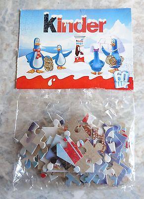 Werbepuzzle KINDER PINGUI, 60 Teile, Ferrero Ukraine, RAR