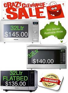 Panasonic 32L Stainless Steel (NEW) Microwave Oven Quakers Hill Blacktown Area Preview