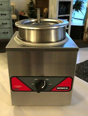 Nemco Restaurant Countertop Warmer Stainless Steel Works Perfectly 6110a