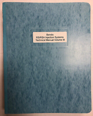Bendix RS/RSA Fuel Injection Systems Service  Bulletins Volume III 1974 Copy