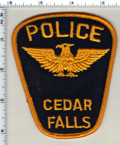 Cedar Falls Police (Iowa)  Shoulder Patch - new from 1990