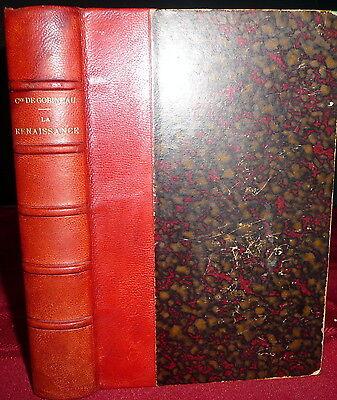 La Renaissance Par Comte De Gobineau 1903 Leather  Margarete Ladenburg Ex Libris
