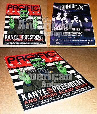 Kanye West BRAND NEW Magazine Halloween Frankenstein For President  (Make Magazine Halloween)