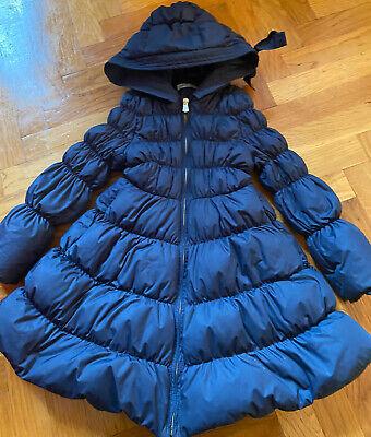 I Pinco Pallino Girl Blue Coat Jacket Size 6