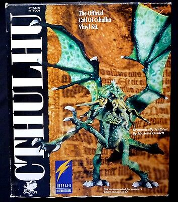 Inteleg Official Call of Cthulhu Vinyl Model Kit New from 1994 Lovecraft