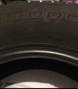 Winter Tires 235 65/R17