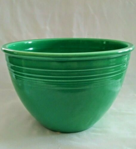 Vintage FIESTA WARE #5 BOWL Original LIGHT GREEN Color circa 1936-1944 EXCELLENT