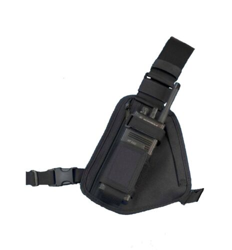 Radio Chest Harness - 101 Black