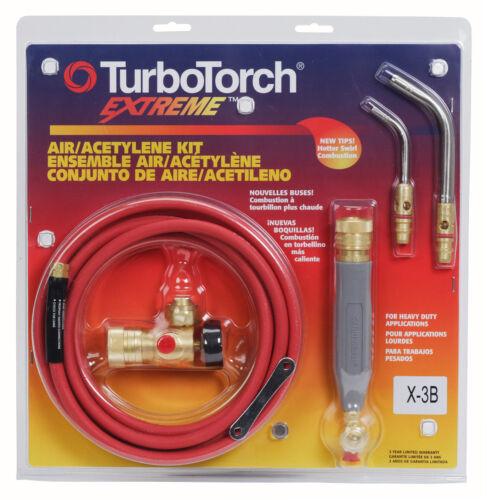 Victor TurboTorch X-3B Torch Kit Swirl, for B tank, Air Acetylene, 0386-0335