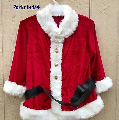 Gemmy Life Size Animated Santa Claus Replacement Suit Jacket