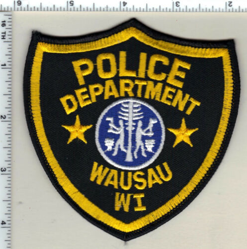 Wausau Police (Wisconsin) 2nd Issue Uniform Take-Off Shoulder Patch