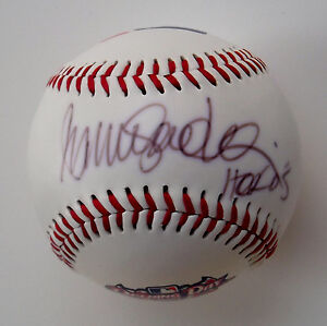 RYNE SANDBERG Signed INSCRIBED w/
