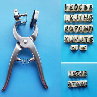 Standard Tattoo Plier Kit 38 Ear Marking Farm Animal Livestock