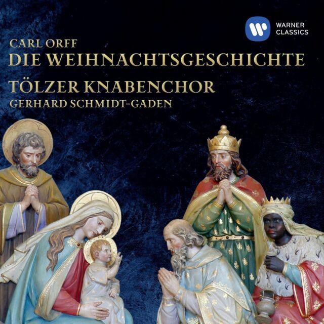 TÖLZER KNABENCHOR - DIE WEIHNACHTSGESCHICHTE  CD NEU ORFF,CARL