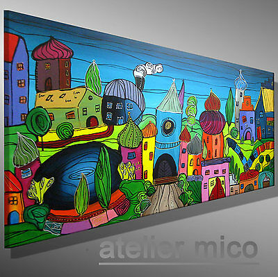 atelier mico ☆☆☆☆☆ ORIGINAL abstrakt Gemälde modern bilder malerei Acrylbild