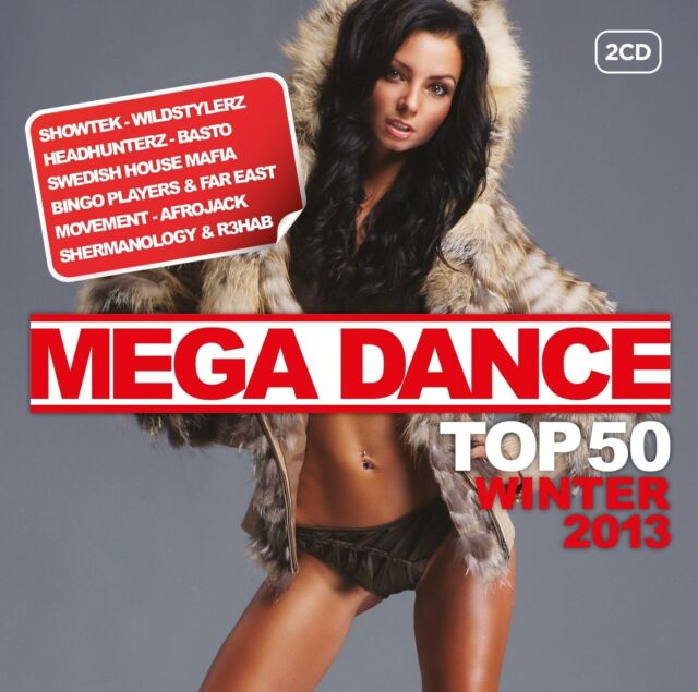 MEGA DANCE TOP 50 WINTER 2013 Project 46 & DubVision feat. Donna Lewis 2 CD NEU