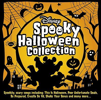 Disney Spooky Halloween (Disney Spooky Halloween Collection - NEW CD - iconic spooky songs from Disney )