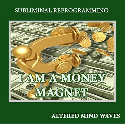 I am a Money Magnet Subliminal Hypnosis CD - Attract Money Into Your Life