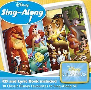 DISNEY SING-ALONG DISNEY CLASSICS CD ALBUM (November 13th 2015)