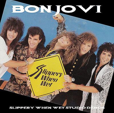 Bon Jovi Slippery When Wet Studio Demos Cd