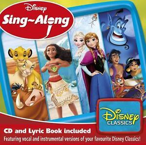 DISNEY SING-ALONG: DISNEY CLASSICS CD - NEW RELEASE JULY 2018