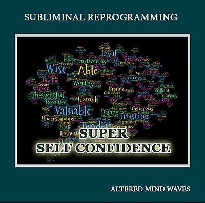 Super Self Confidence Subliminal Hypnosis CD - Easily Attain Super Confidence