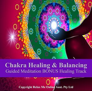 Chakra Healing & Balancing Guided Meditation CD PLUS - Stress Relief Relaxation