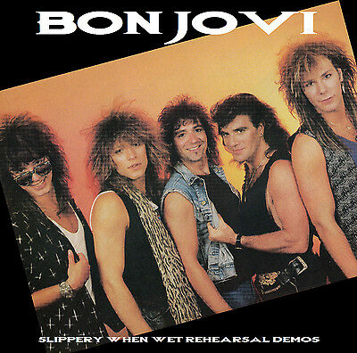 Bon Jovi Slippery When Wet Rehearsal Demos Cd