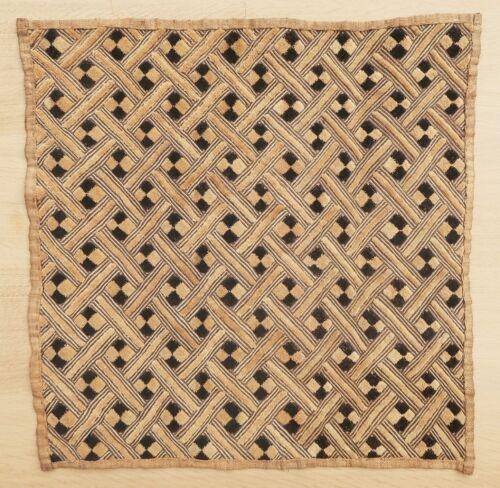 Textile weave antique tribal African Africa Congo Shoowa Kuba 1950