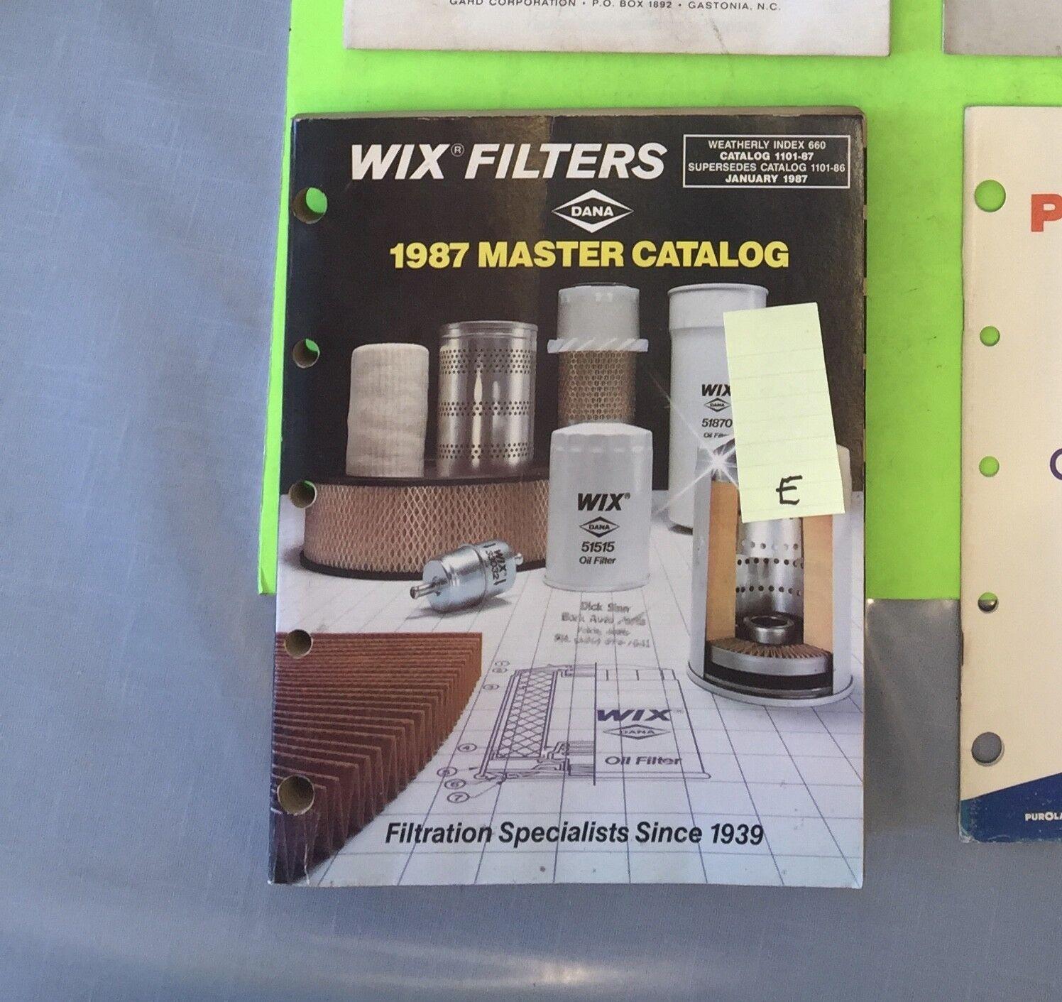 Wix Master filter catalog.   Item:  9214e