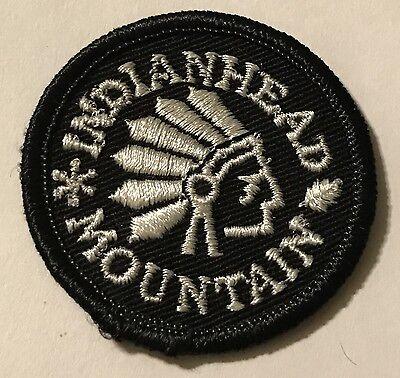 INDIANHEAD MOUNTAIN Skiing Patch Wakefield MICHIGAN MI Souvenir Travel MINT