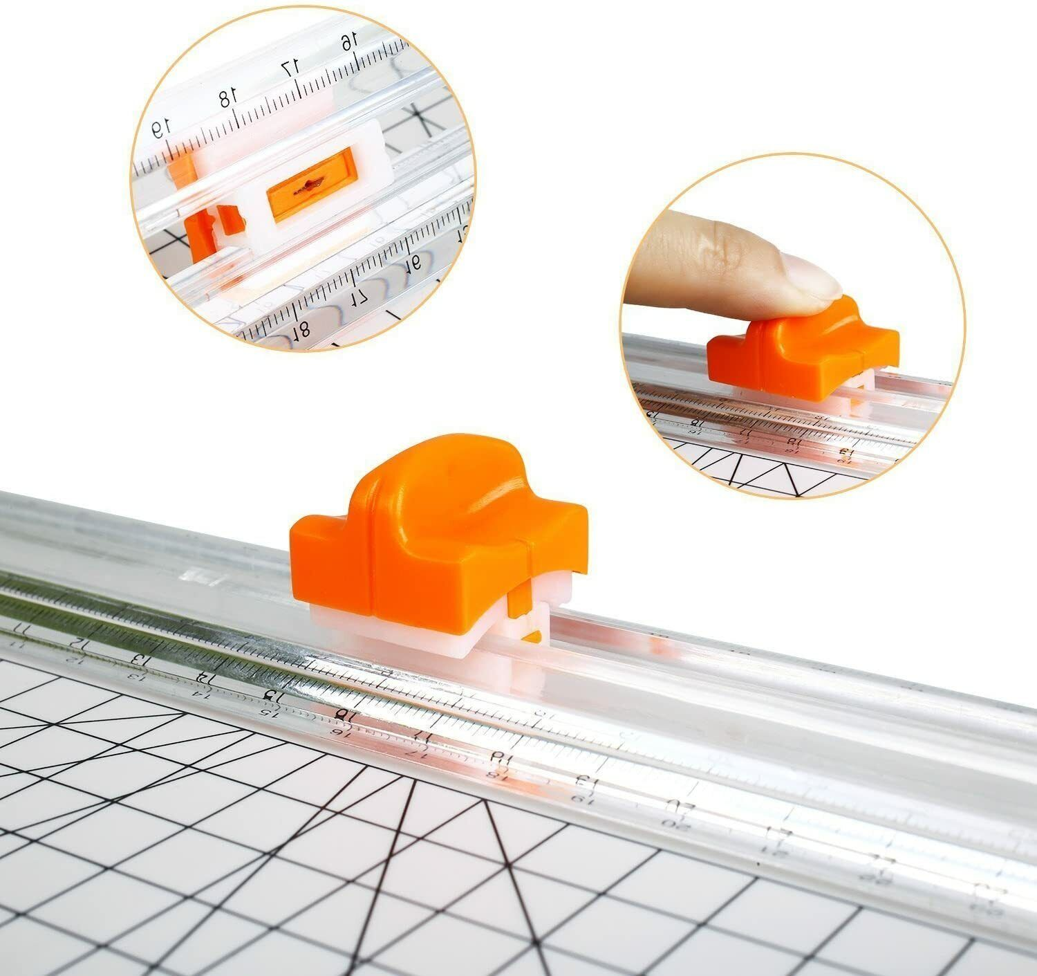 Firbon Paper Cutter Replacement Blade with Automatic Securit