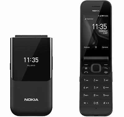 Nokia 2720 Fold - Black (Unlocked) Mobile Phone Unlocked GSM A Grade Condition