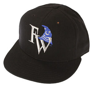 MiLB-Minor-League-Baseball-Fort-Wayne-Wizards-Baseball-Cap-59-50-Hat-Black