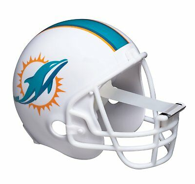 3m Scotch Tape Dispenser - Miami Dolphins Football Helmet W 1 Tape Roll