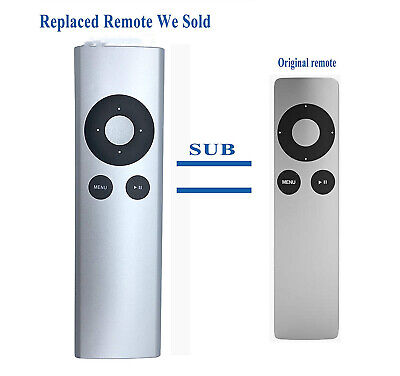 NEW Replaced Remote Control For Apple TVsub MC377LL/A TV 2 3 Music System (Apple Mac Music)