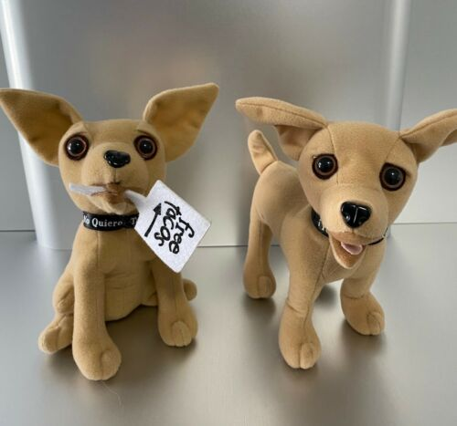 Taco Bell Talking Dogs Chihuahua Plush Toys
