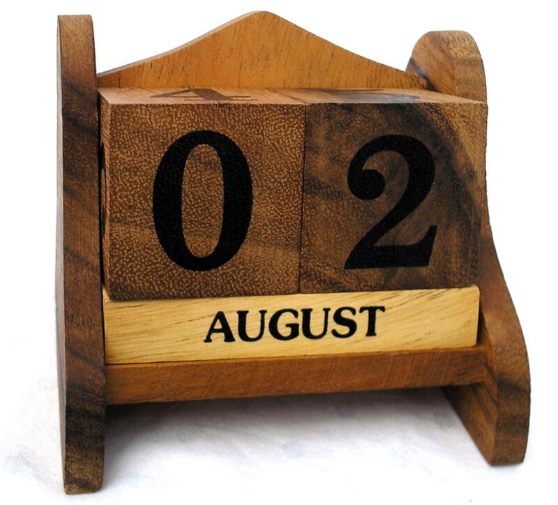Календарь-кубики своими руками 36