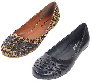 WOMENS-BLACK-BROWN-LEOPARD-ANIMAL-PRINT-FLAT-SHOES-COMFY-SLIP-ONS-NEW-WITH-BOX