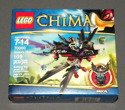 Lego Chima Razcal's Glider 70000 Set Legends Of W Razcal Minifigure