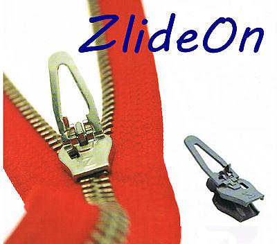 ZlideOn Zipper 5B Schwarz für Reißverschluss für Metall und Kunststoff Schieber