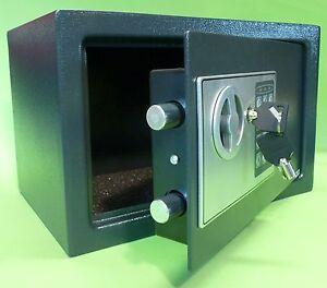 elektronischer safe wandtresor m beltresor mit zahlenschloss schl ssel 70207 ebay. Black Bedroom Furniture Sets. Home Design Ideas