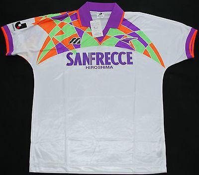 1993-1995 SANFRECCE HIROSHIMA MIZUNA HOME FOOTBALL SHIRT (SIZE L) - BNIB image