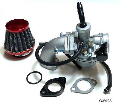 PZ-22 Carburetor Air Filter Manifold Kit 110cc 125cc Dirtbike Kawasaki KLX110 e1