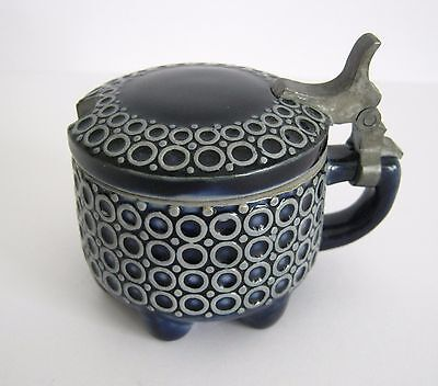 Alter Keramik Senftopf Westerwälder Steinzeug Reinhold Merkelbach