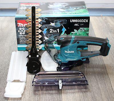 Makita Akku-Grasschere UM600DZX 10,8V, incl. Strauchscherblatt - Sologerät