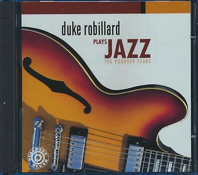 SEALED NEW CD Duke Robillard - Plays Jazz: The Rounder Years (Rounder Years)