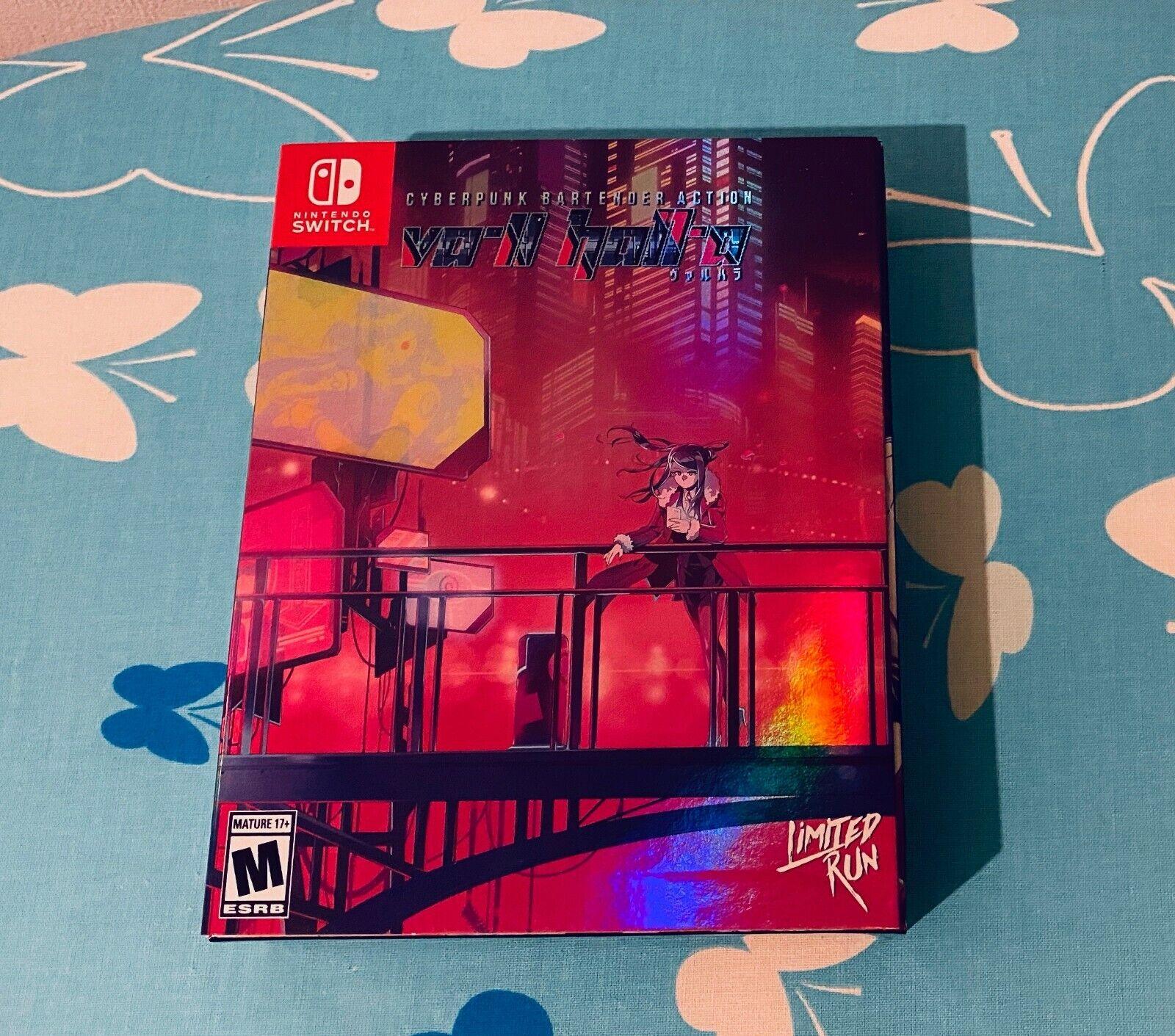 VA-11 HALL-A Nintendo Switch Collectors Edition Limited Run Games neuw.
