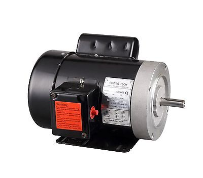 New 1hp Electric Motor 58 Shaft General Purpose 1 Ph 115230v 56c 1750rpm