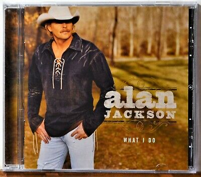 CD Alan Jackson What I Do Too Much of a Good Thing USA Today Country NICE DISC